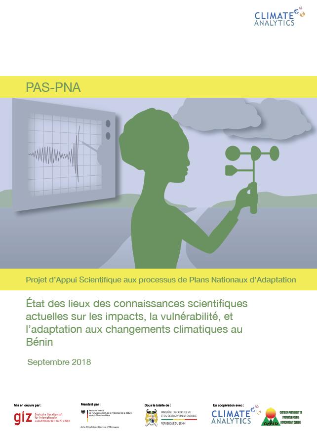 Etat des lieux connaissances scientifiques Benin