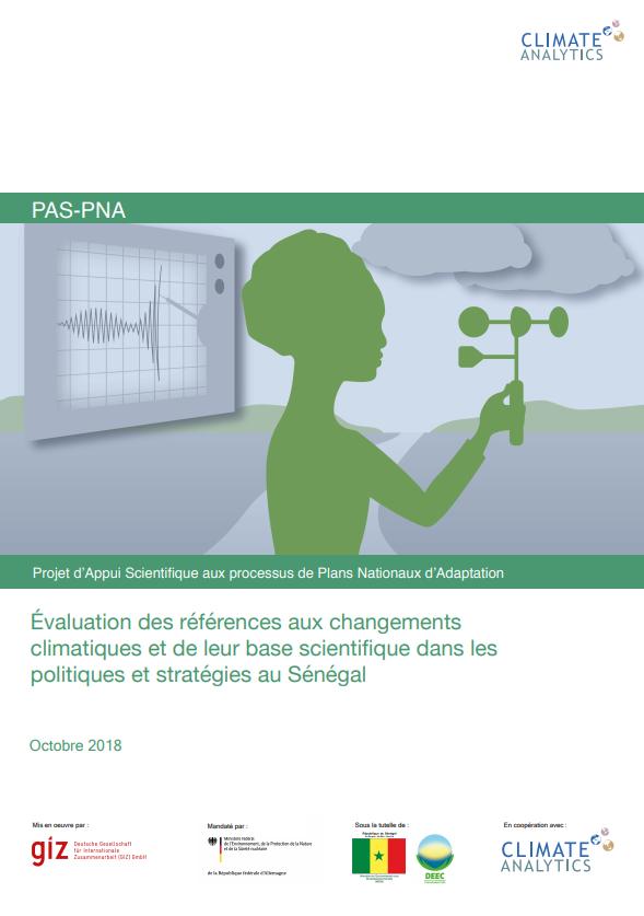 Evaluation references aux CC Senegal